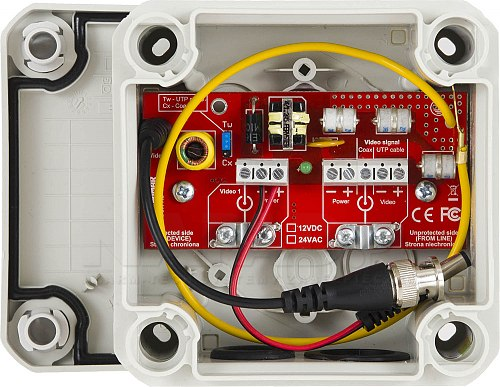 Zabezpieczenie wideo HD-1-EXT/12VDC / HD-1-EXT/24VDC