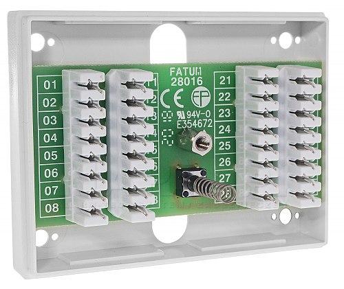 Skrzynka przyłączeniowa Alarmtech 28016.01
