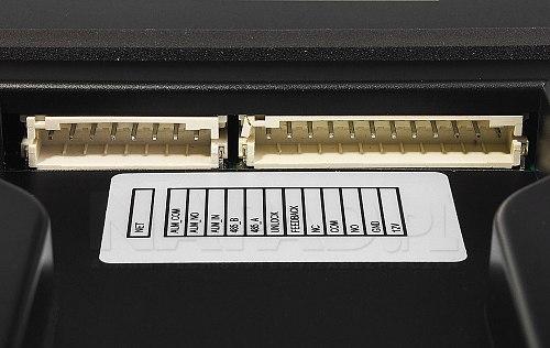Wejścia podłączeniowe w panelu Dahua DHI-VTO3211D-P