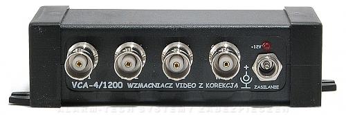 Wzmacniacz wideo z korekcją VCA4/1200