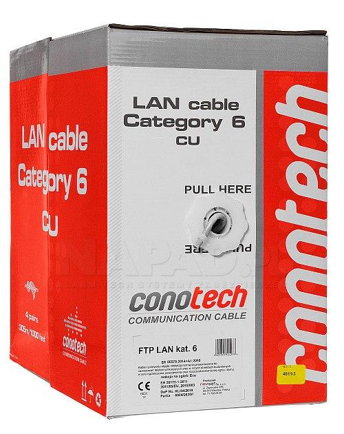 Kabel F/UTP kategorii 6 Conotech
