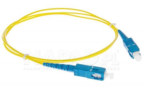 Patchcord SC/UPC-SC/UPC SM 9/125 simplex 2m