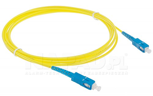 Patchcord Fiber SC - SC SM9/125 G652D simplex