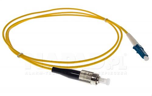 Patchcord optyczny jednomodowy FC-LC 9/125 1m simplex