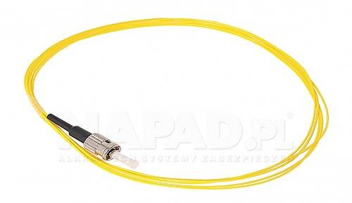 Pigtail optyczny ST/UPC SM 9/125 G652D 2m