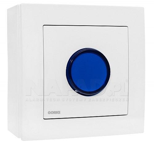 Sygnalizator optyczny BSO-400 niebieski