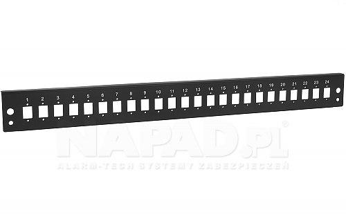 Panel 24-portowy do adapterów SC simplex