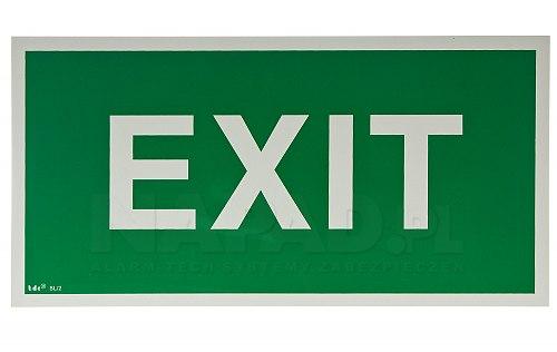 Znak ewakuacyjny EXIT AC 004