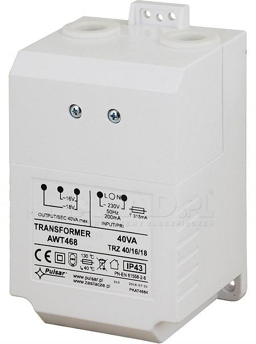 Transformator TRZ40VA/16/18 AWT468 / TR40