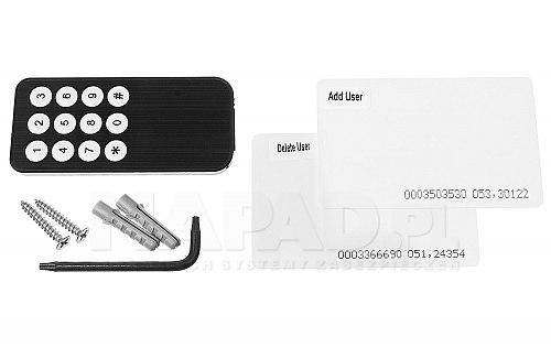 Czytnik zbliżeniowy RFID z rozpoznawaniem palców Widos ZS 70