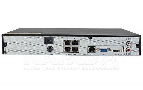 PX-NVR0481H-P4 - 16CH rejestrator ze switchem PoE