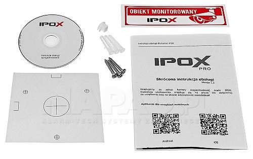 IPC 4Mpx PX-TZIP4036-P IPOX