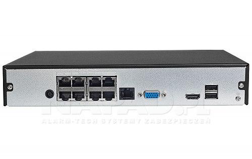 Rejestrator IP Dahua NVR1108HS-8P-S3