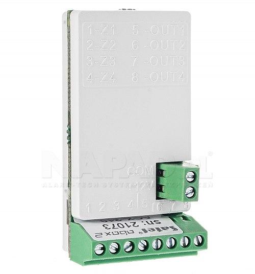 Miniaturowy bezprzewodowy ekspander wejść i wyjść przewodowych ACX-210