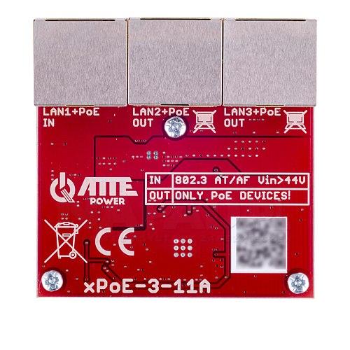 Switch 3-portowy PoE xPoE-3-11A