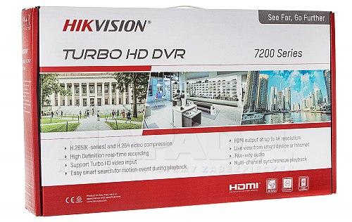 Wielosystemowy rejestrator DVR 5 w 1 iDS7208HQHIK14S