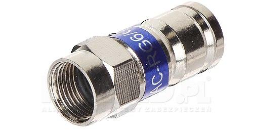 Złącze F kompresyjne (RG6)