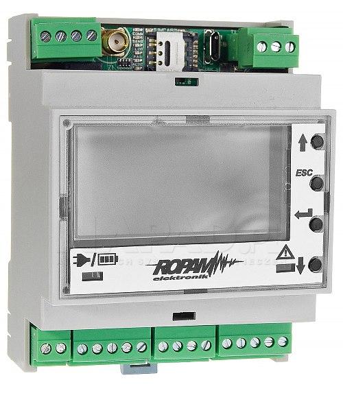 Moduł powiadomień i sterowania GSM MultiGSM-LCD-HMI-D4M