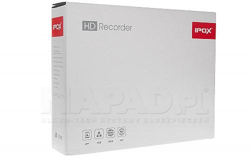 HDR0851H - jednodyskowy rejestrator 4K