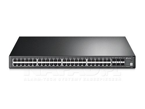 10-gigabitowy stackowalny switch, 52-portowy T3700G-52TQ