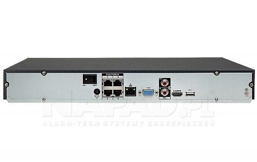 Rejestrator IP Dahua NVR2204-P-4KS2