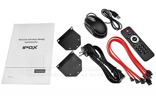 Rejestrator 5 w 1 IPOX PX-HDR1624H-16A
