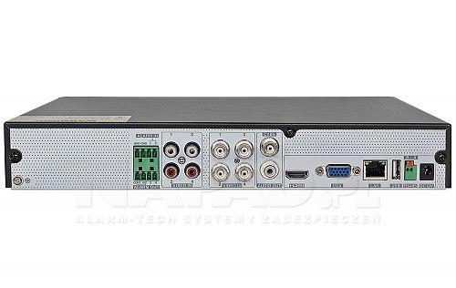 4-kanałowy rejestrator Analog HD i IP HDR0421H-4A