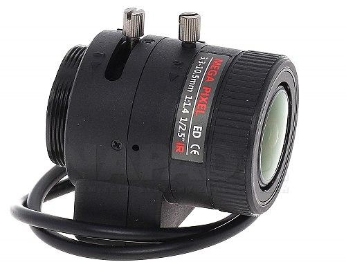 Obiektyw megapikselowy 3.3-10.5mm 50CS25-3310/DC
