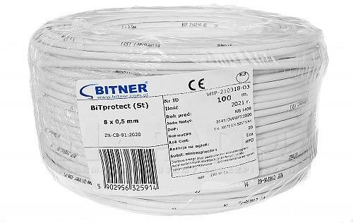 Przewód BiTprotect (St) 8x0.5 mm
