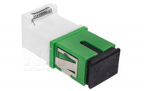 Adapter FO SM SC/APC simplex z klapką