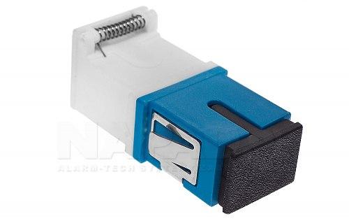 Adapter FO SM SC/UPC simplex z klapką