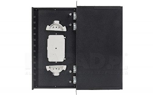 Przełącznica optyczna 12x SC duplex czarna