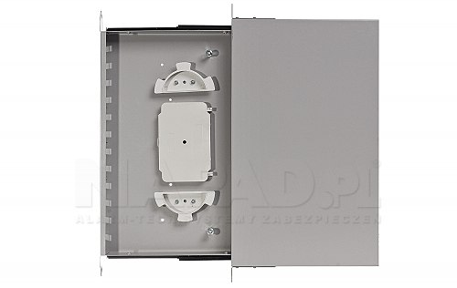 Przełącznica optyczna 12x SC duplex szara