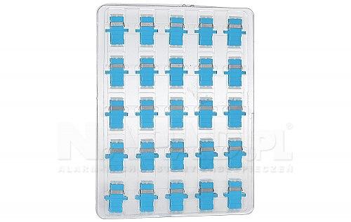 Komplet adapterów MM OM3 SC simplex