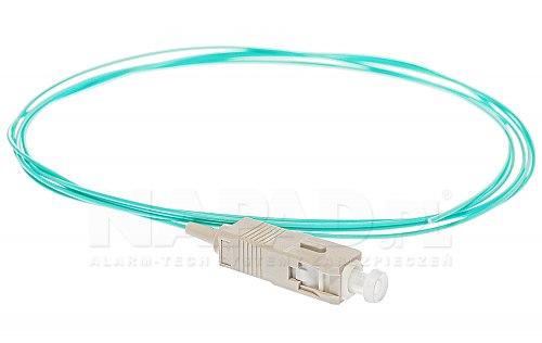 Pigtail optyczny SC/UPC MM 50/125 OM3 1m