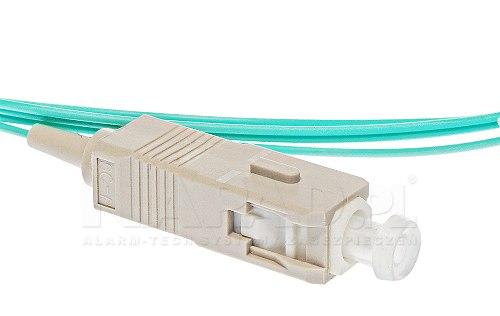 Pigtail światłowodowy SC UPC MM 50/125 OM3 1m