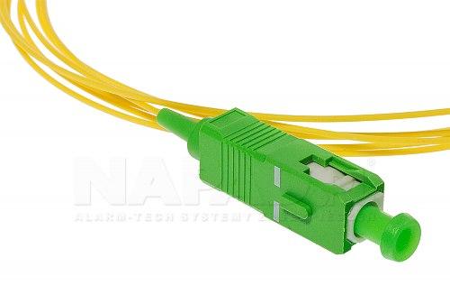 Pigtail światłowodowy SC APC SM 9/125 G.657A