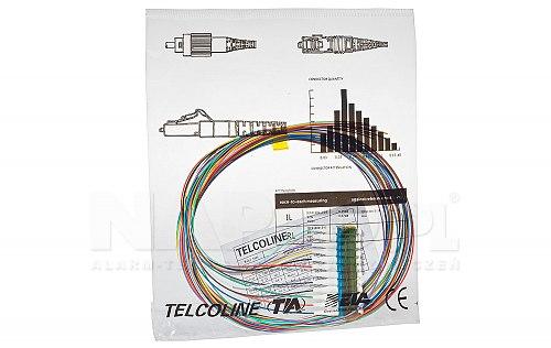 Pigtail światłowodowy LC UPC SM9/125 G.657A