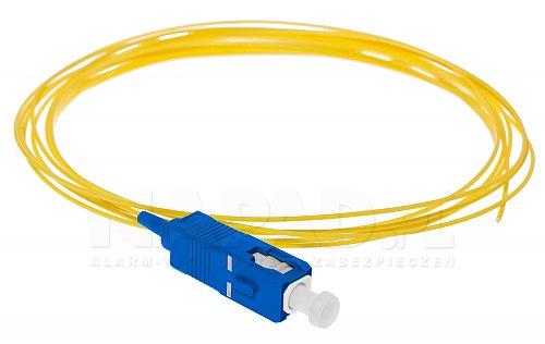 Pigtail optyczny SC/UPC SM 9/125 G657A