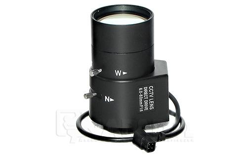 Obiektyw CS Auto-Iris 6-60 mm F1.6