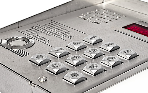 Panel z wyświetlaczem LED + czytnik Dallas Matibus SE 1052/106D