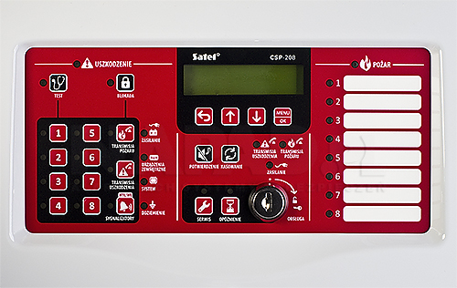 Centrala sygnalizacji pożarowej CSP-208 Satel
