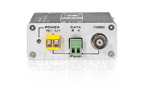 Zabezpieczenie wideo + zasilanie + RS485 USP201PVD220