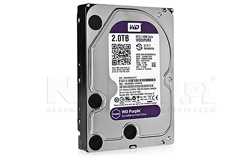Dysk 2TB SATA III Western Digital Purple