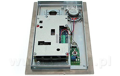 Cyfrowy system domofonowy CD2520T INOX zestaw
