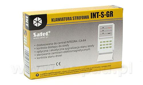 Klawiatura strefowa INT-S-GR