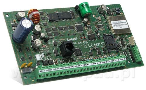 Płyta główna centrali alarmowej INTEGRA 128-WRL