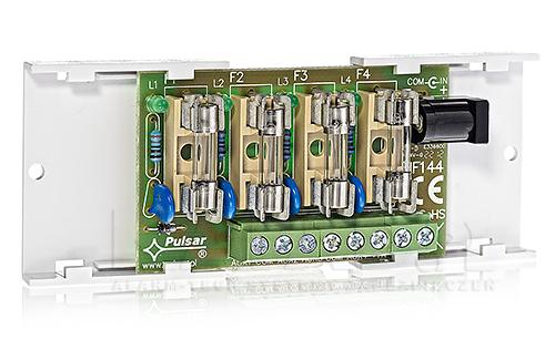 Listwa bezpiecznikowa (moduł bezpiecznikowy LB4) AWZ576