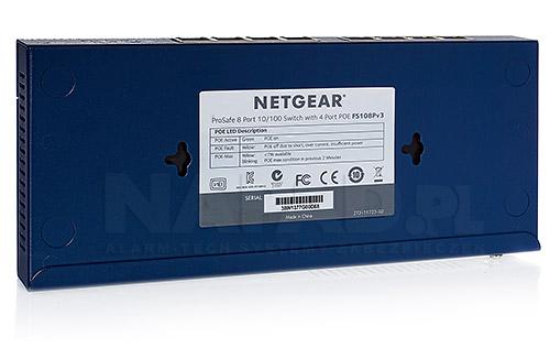 Switch 8-portowy FS108P PoE NETGEAR