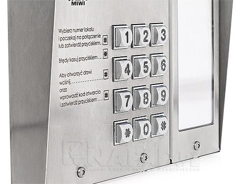 Panel z wyświetlaczem LED Matibus SE 1052/101D